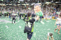 Saskatchewan Rush 2016 NLL Champions Champion's Cup Photo: Bob Holtsman