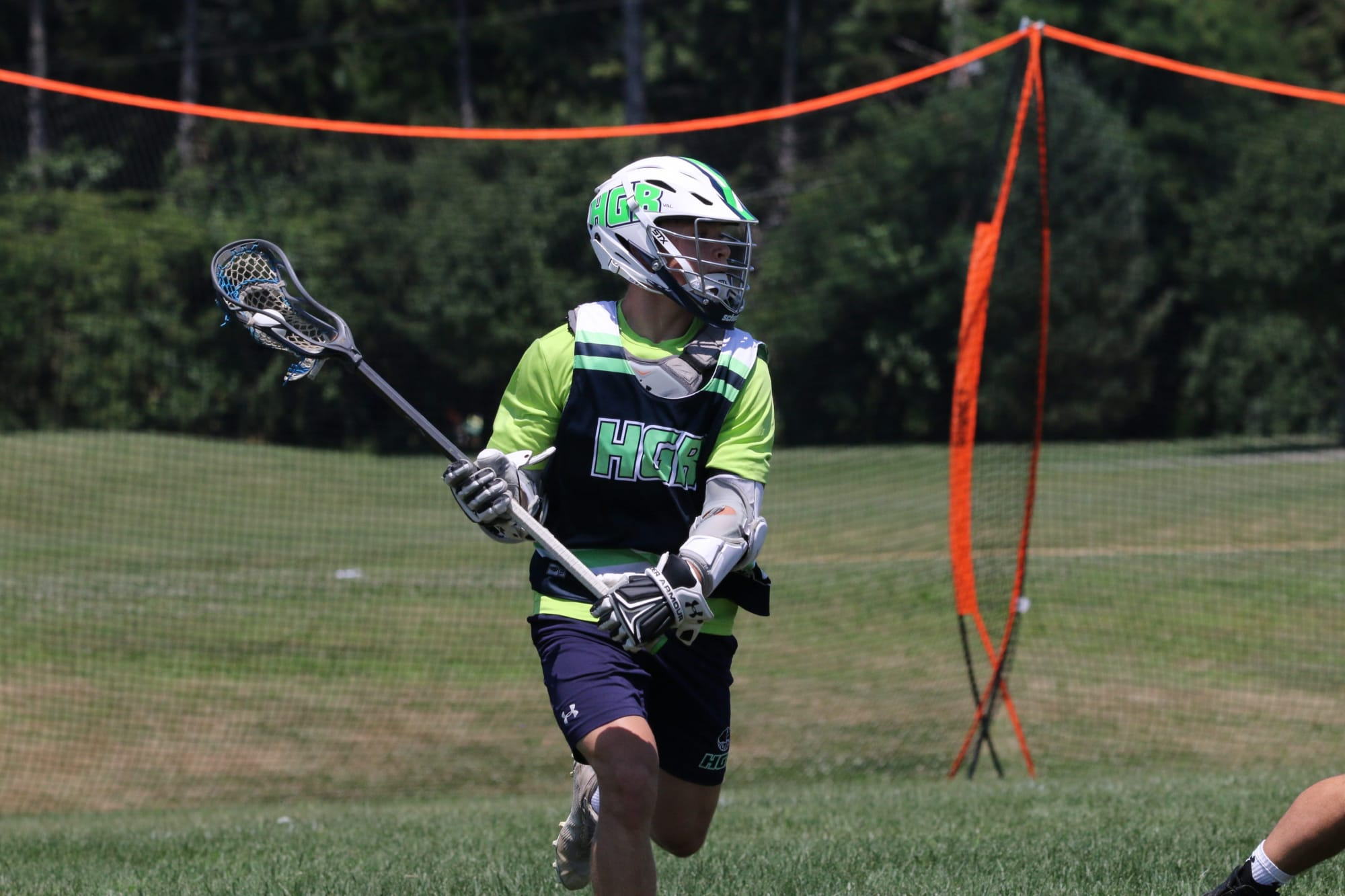 Massachusetts high schooler Billy O'Neill is looking for a field lacrosse program with a box lacrosse feel for his college decision.