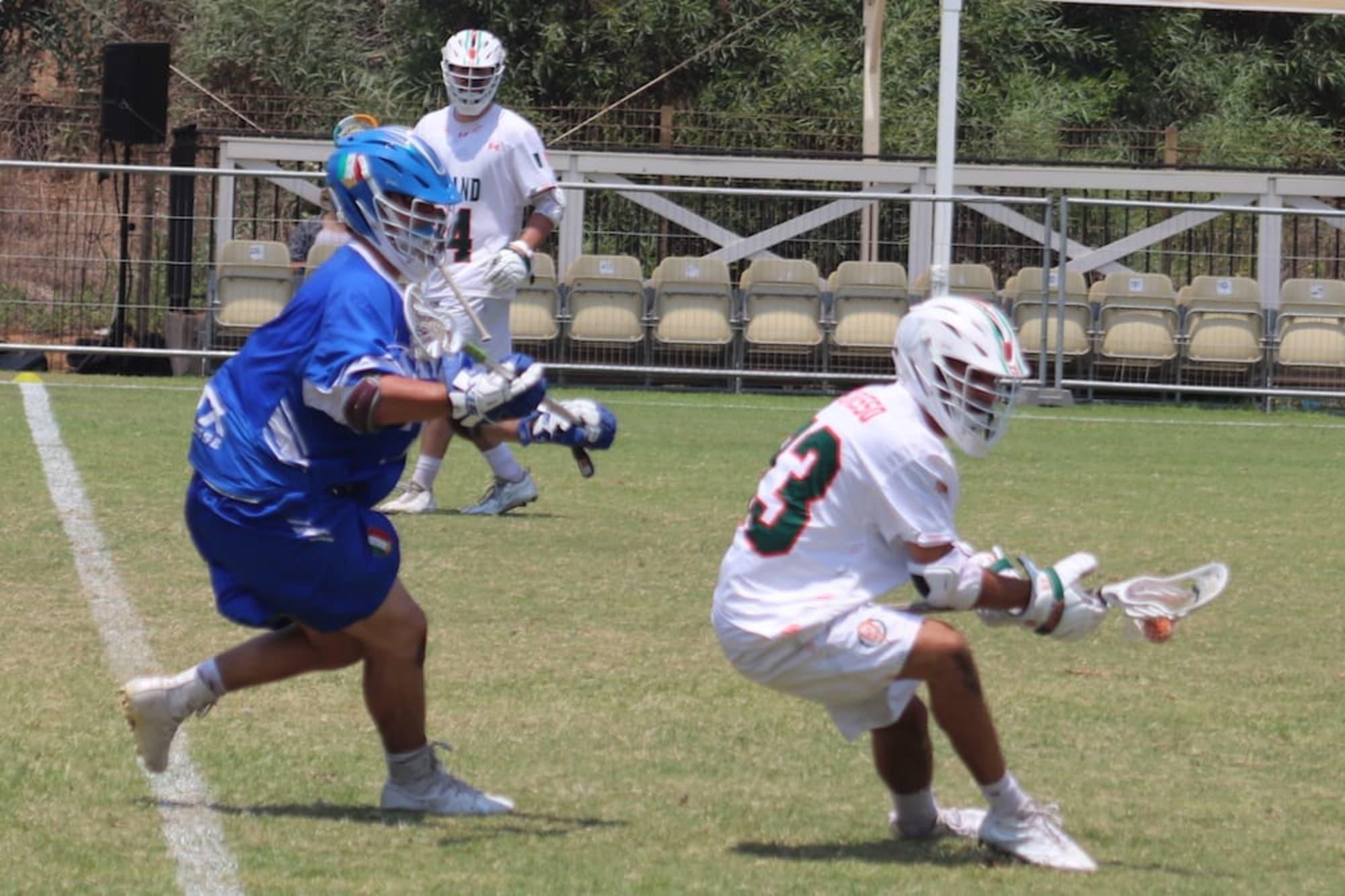 Kris Alleyne Photo: Anne Evans / MLL Major League Lacrosse