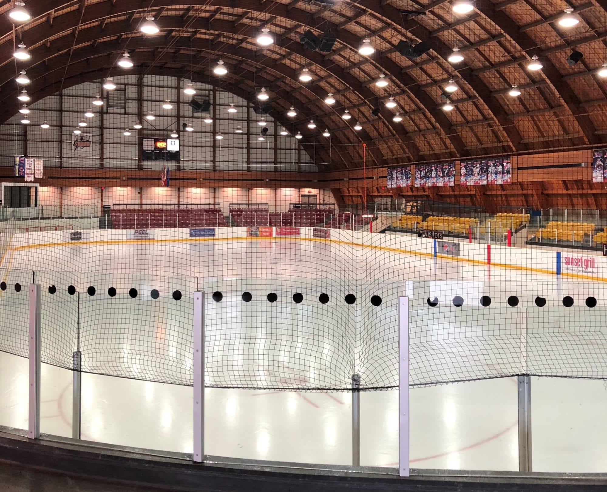 box lacrosse rink