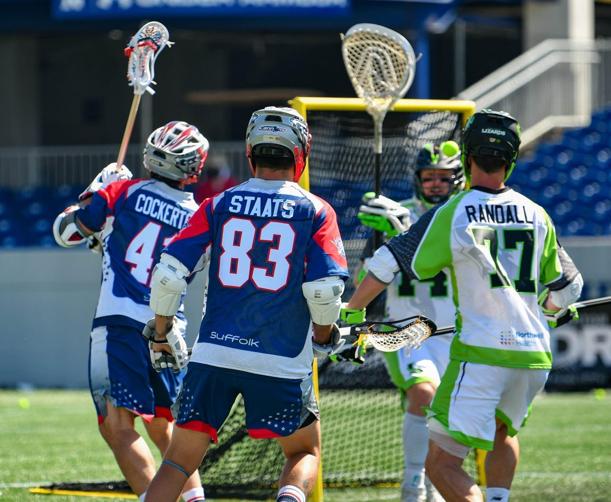 Major League Lacrosse 2020. New York Lizards Boston Cannons Photo: MLL / Pretty Instant
