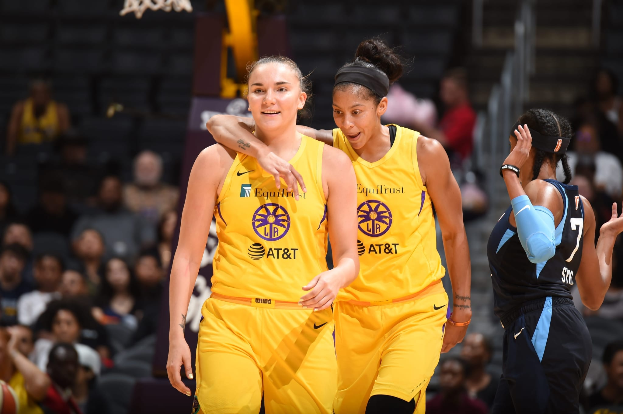 Maria Vadeeva Learns English to Grow Basketball in Russia photo provided by LA Sparks