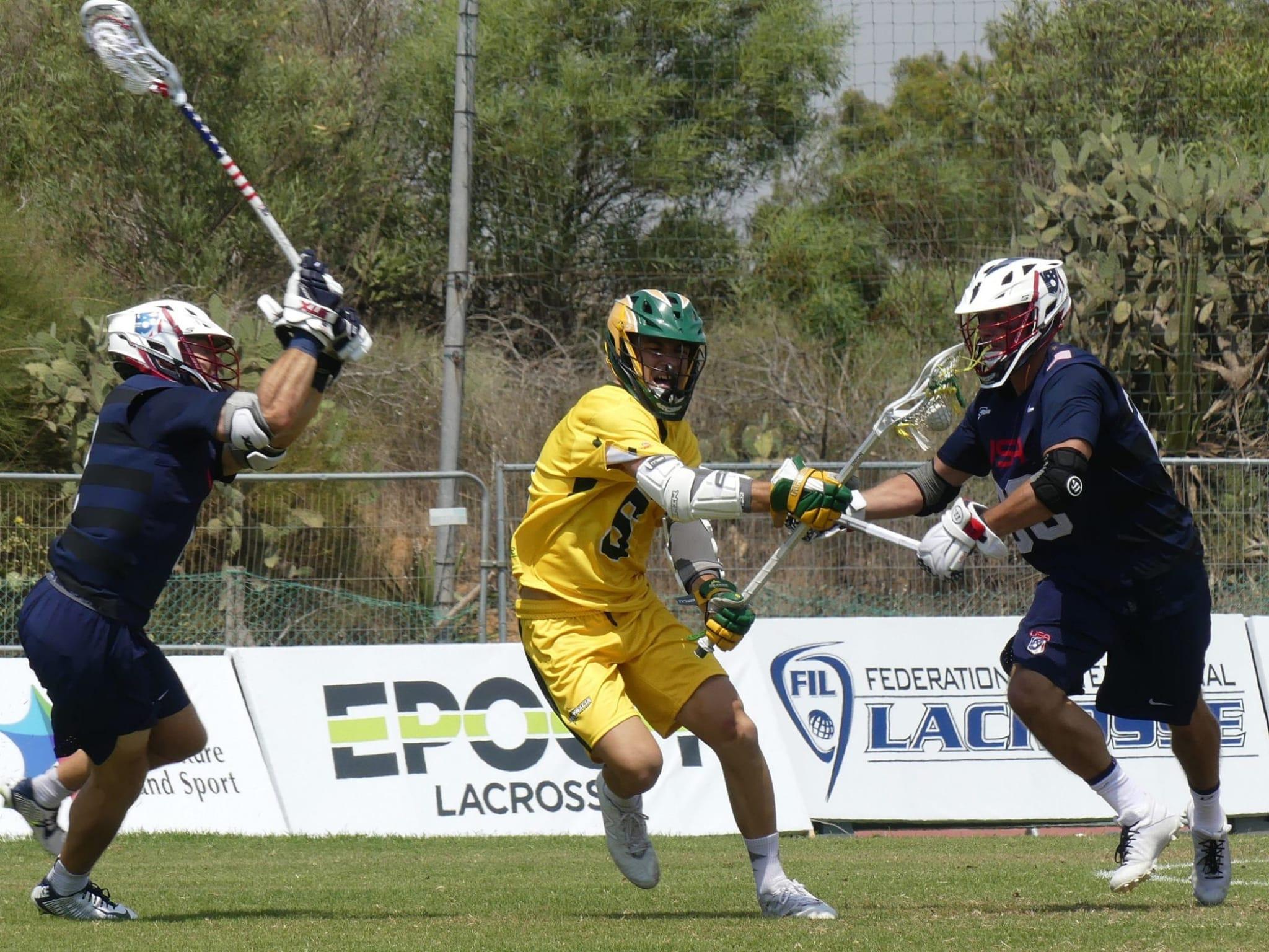 USA Australia 2018 World Lacrosse Championships Roger Davis