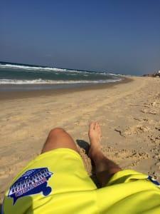 Israel beach lacrosse all stars Brian Witmer