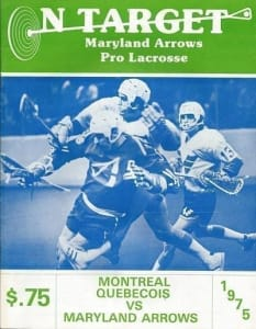 Montreal Quebecois - Forgotten Teams of Lacrosse History 1975 Shirt of the Month