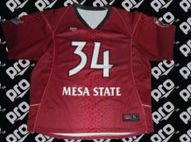 mesa state uniforms pro athletics