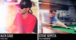 Alex Cade and Steve Sepeta