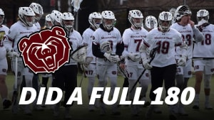 lacrosse fake pass missouri state lacrosse did a full 180
