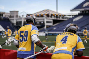 MLL backup face-off Luther Fleming