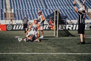 MLL Philadelphia Barrage Denver Outlaws Major League Lacrosse 2020 photo: Pretty Instant / MLL