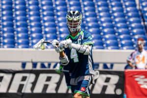 Major League Lacrosse 2020. Chesapeake Bayhawks Philadelphia Barrage Photo: MLL / Pretty Instant Andrew Kew