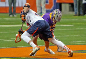 Ben Williams Syracuse lacrosse vs UAlbany 2015 credit Jeff Melnik