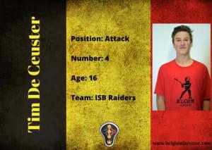 Tim De Ceuster - Belgium