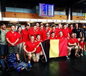 2016 Belgium Men's Lacrosse Team