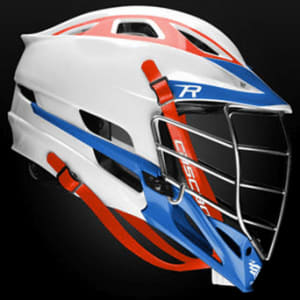 LAS Cascade Lacrosse Helmet mockup