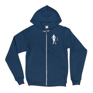 womens identity hoodie