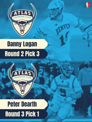 Danny Logan Peter Dearth PLL Rookie Spotlights