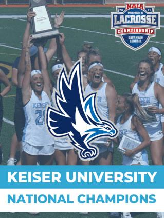 Keiser NAIA Women's Lacrosse National Champions
