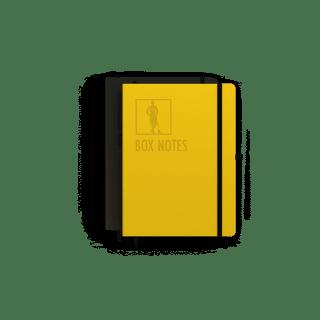 box lacrosse journal, notebook