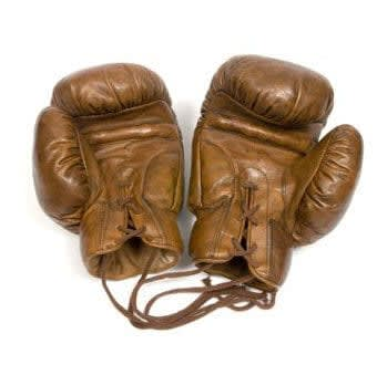 BOXING GLOVES 1920's