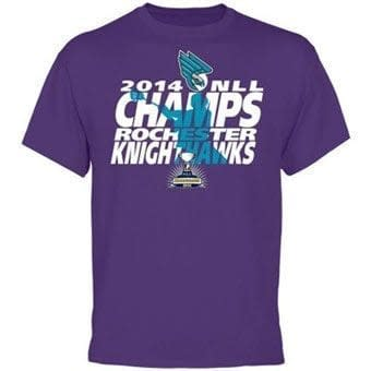 Rochester Knighthawks 2014 National Lacrosse League Champions T-Shirt