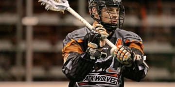 Kevin Crowley Black Wolves vs Rochester Knighthawks NLL Photo Credit: Khoi Ton/Black Wolves Photographer