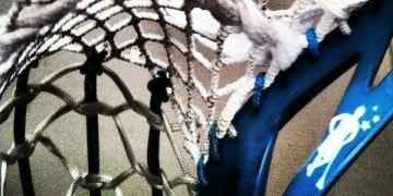 Half Traditional Half Mesh Lacrosse Pocket - Trameshional