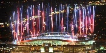 Mile High Stadium Fireworks
