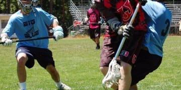 Joe Eck Woozles lacrosse cradel big blue
