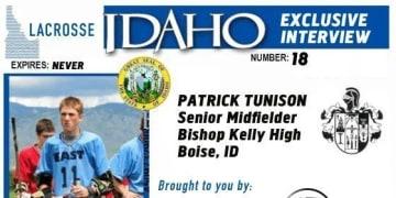Lax ID Patrick Tunison interview