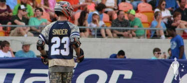 Drew Snider at the MLL ASG 2015
