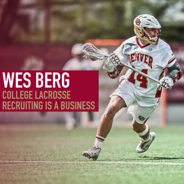 College lacrosse recruiting wes berg