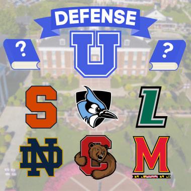 best lacrosse defensemen Defense U