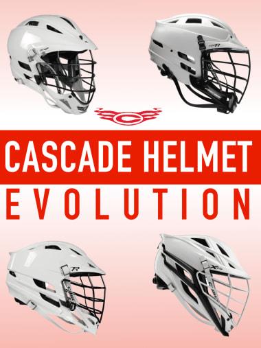 Cascade lacrosse helmets