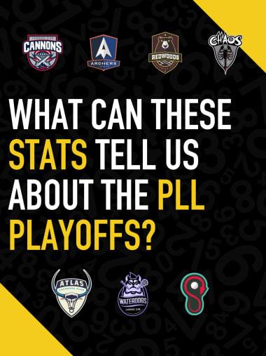 2021 PLL quarterfinals stats