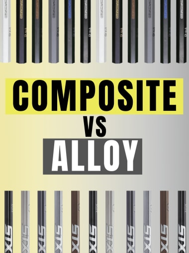 which is better, composite or alloy lacrosse shafts