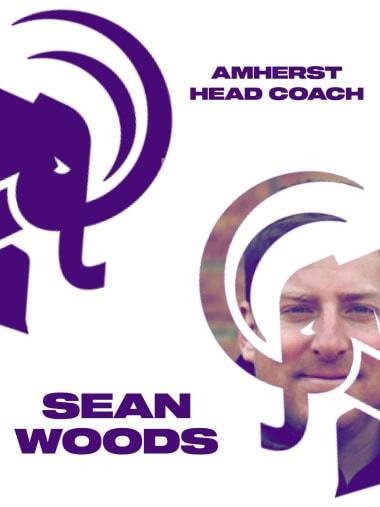 Sean Woods Amherst men's lacrosse coach