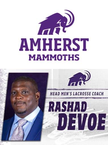 Amherst lacrosse coach