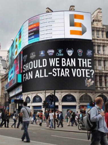 PLL All Stars fan vote change Going Offsides