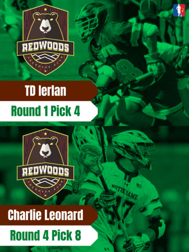 TD Ierlan Charlie Leonard PLL Rookie Spotlights