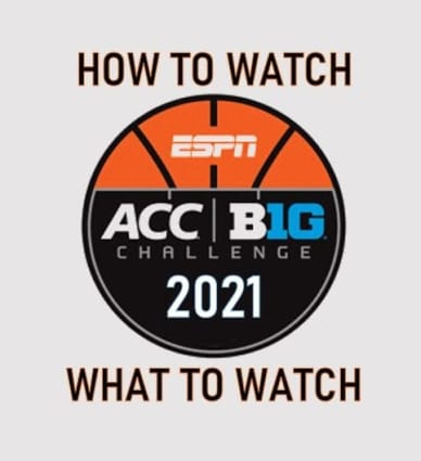 ACC Big Ten Challenge 2021 college basketball video games return