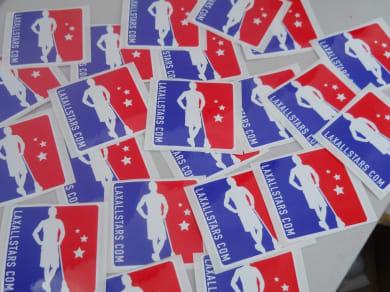 LAS stickers