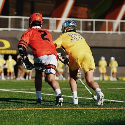 Oregon men's lacrosse Oregon State Civil War 2021
