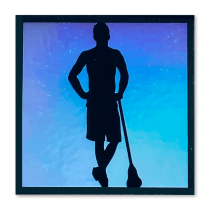 Lacrosse All Stars Holographic Sticker