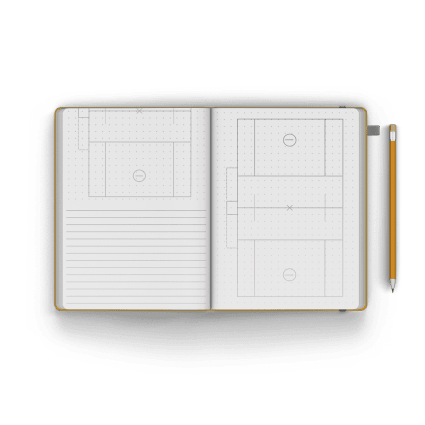 Men's Field Notebook / Journal