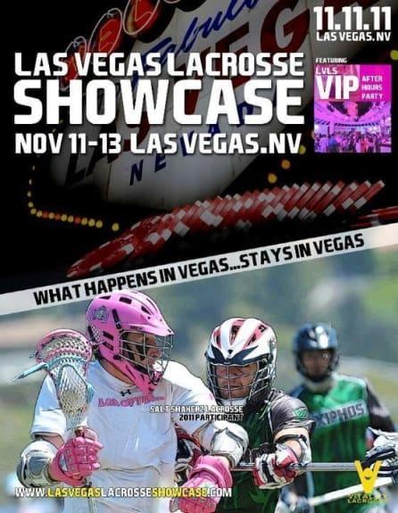 Las Vegas showcase lacrosse salt shakerz