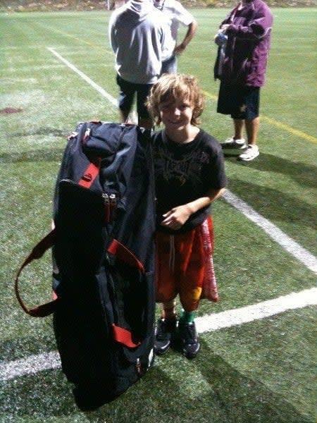 lacrosse gear bags