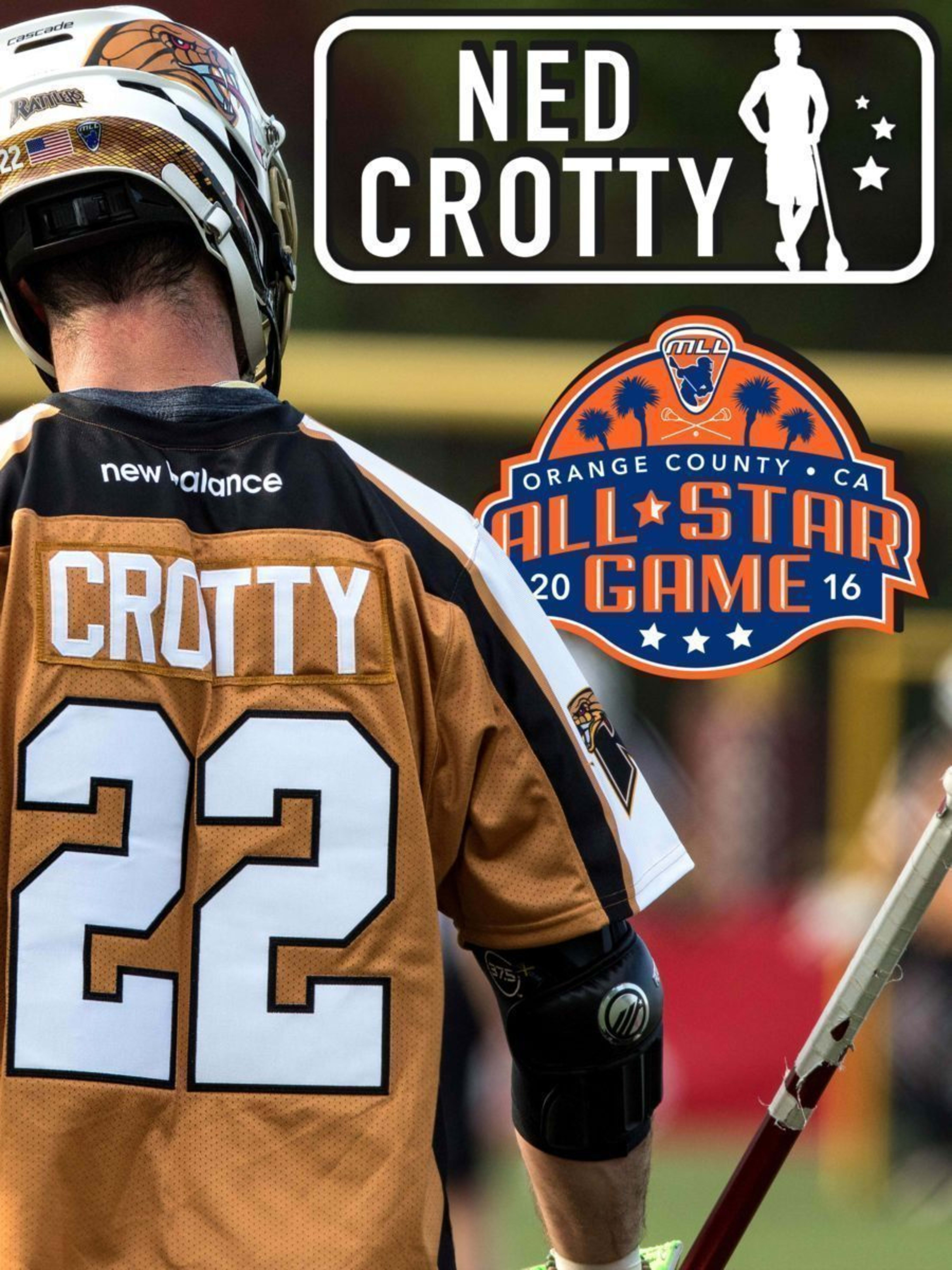 Ned Crotty - major league lacrosse all stars by brand