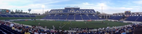 mll game navy stadium lacrosse