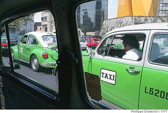 Mexico green taxis